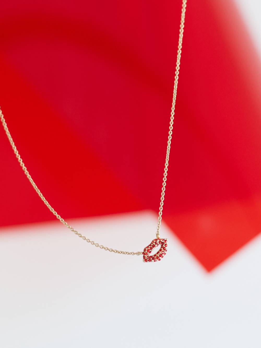 necklace, pave, valentine's, jewelry