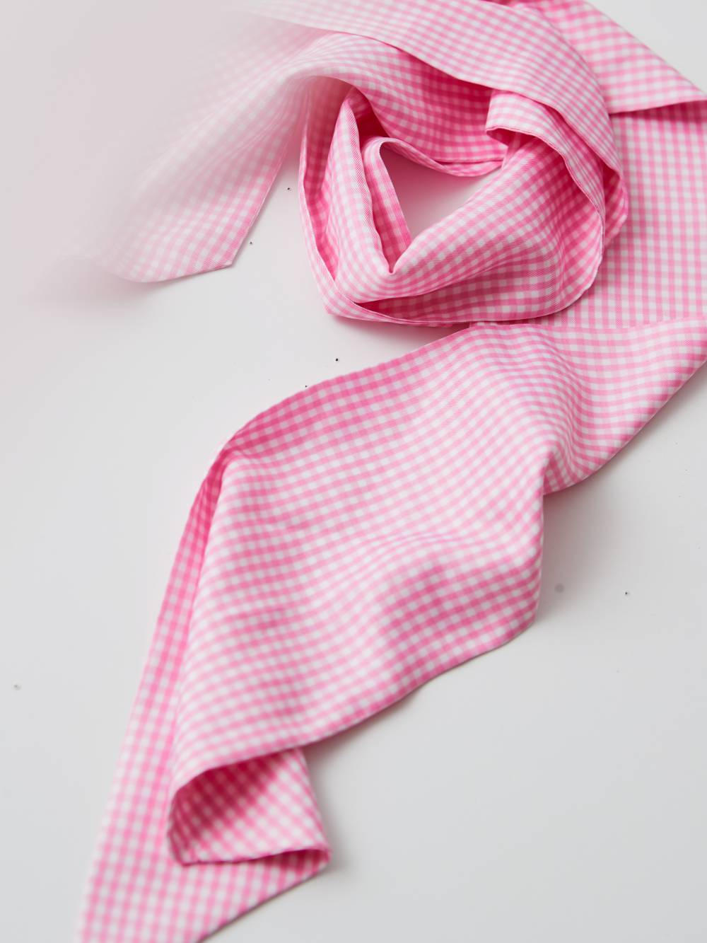 gingham, pink, valentine's day, neckerchief, accessories